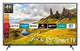 Telefunken XU65K529 65 Zoll Fernseher (Smart TV...