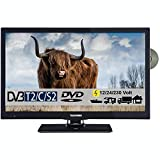 Telefunken T22X740 mobil Full HD LED Fernseher 22...